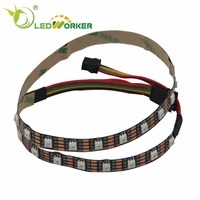 Hot sale magic digital dream color rgb ws2813 5050 144leds/m addressable led strip A2830