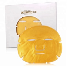 Private label Nourishing 24K gold collagen crystal facial mask