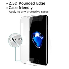 Factory Direct Selling 100% Fitting Tempered Glass Screen Protector for iPhone 7 with Retail Box Package