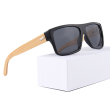 2019 OEM recycled custom men handmade bamboo sunglasses