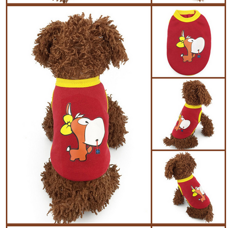 Keep Warm 2015 New Fashion Winter Autumn Dog Clothes Soft Cotton Puppy For Pet