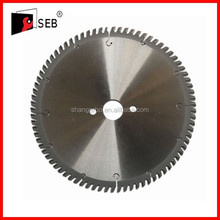 Aluminum cutting saw blade disc