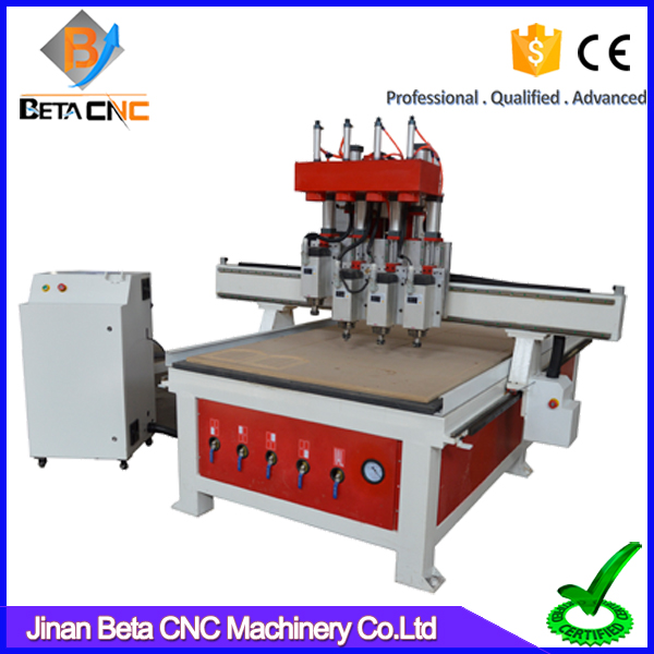 China wholesale 3d woodworking cnc carving router, wood carving machine with simple auto tools changer for sale
