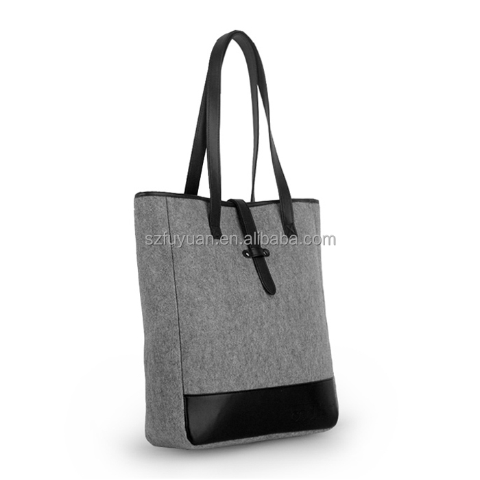 wool felt bag,felt tote bag,felt shopping bag wholesale
