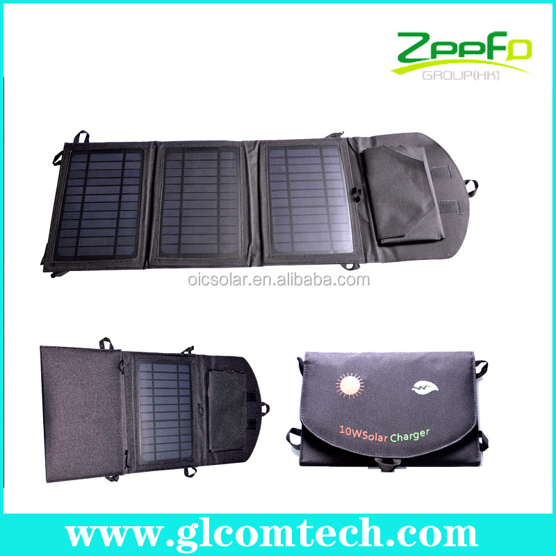 Outdoor waterproof &foldable solar charger case for ipad mini