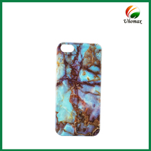 TPU Marble Oil Shining Print Water Paste Cell Phone Case for iPhone 5 For ZTE Back Cover