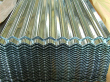 corrugated galvanized steel roofing sheet/zinc coated metal wave ceiling tiles