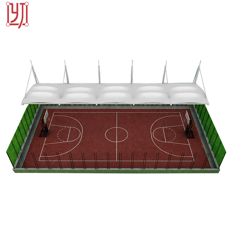 New design tensile membrane structure for stadium roof