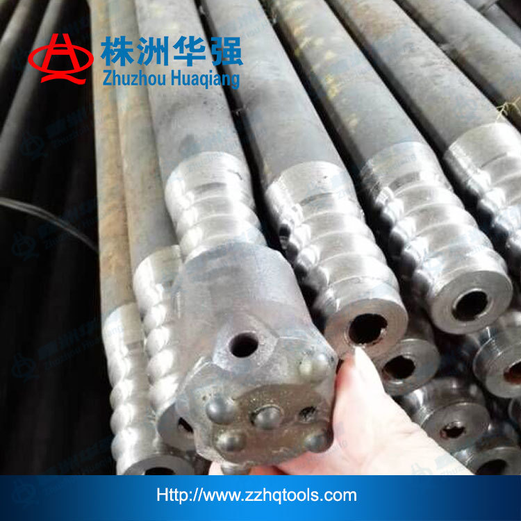 tapping rod for blast furnace drill bit