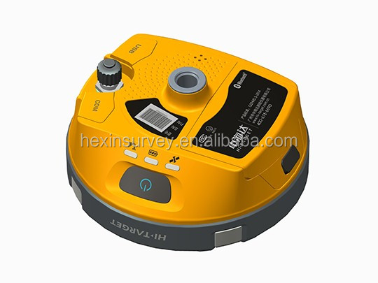 IP67 dustproof and waterproof Hi-traget V90, gps rtk surveying instrument