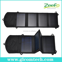 Powerful foldable solar charger pad for travelling with high efficiency solar cell