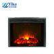 Electrical 26 inch cast iron fireplace insert for North America market