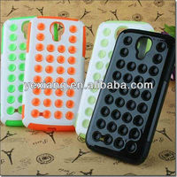 Colorful Double Protect Glow Silicon Case Cover For Samsung Galaxy S4 I9500