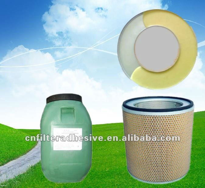 PU,foam adhesive for air filter(bonding metal and paper)