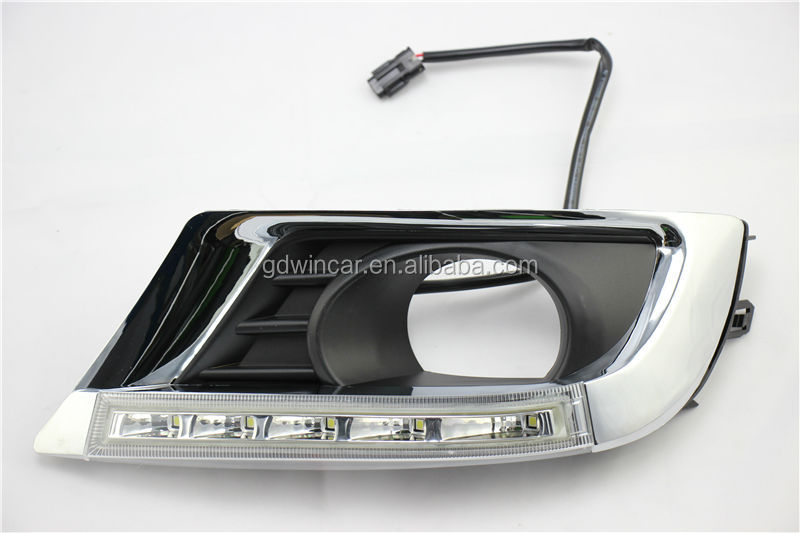 High bright LED DRL headlight led daytime running lights For Toyota Camry 2009 - 2011