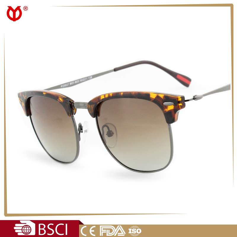 Retro Brand Designer Semi ba Sunglasses Men Women Vintage Club Coating Sun Glasses Master Fashion Oculos Gafas De Sol P25027