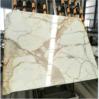 Italy Marble Plate White Calacatta Marble