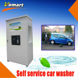 1.6KW 80 bar Coin/card operated self service car wash equipment/self-service high pressure gas container
