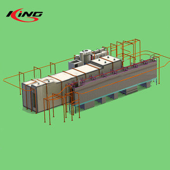 china automatic powder coating assembly line paint systems