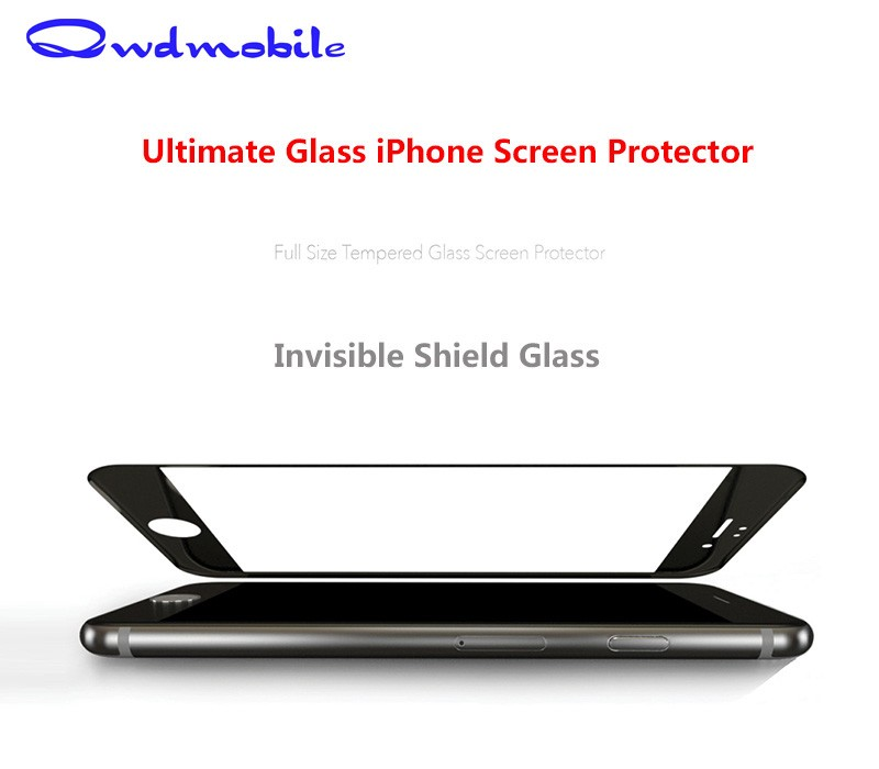 China Factory Price !! 3D Anti fingerprint screen protector For iPhone 6 / 6 Plus / 6S / 6S Plus with Big Promotion !!