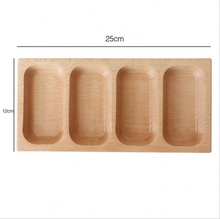 New Arrival Environmental Protection Small Wooden <strong>Plate</strong> Unbreaken Wooden Separate Dish