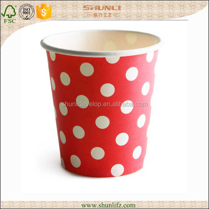 Customer logo printed ripple wall paper cup/ Take away ripple wall paper coffee cups
