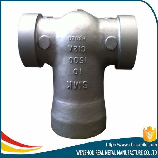 Stainless steel gate valve bonnet casting