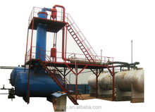 High oil yield 20 tons per day plastic oil distillation