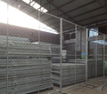 8ftX12ft Framed Portable Chain Link Temporary Fence Panel