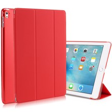 Factory direct sale tablet pu case For iPad air2 smart cover case