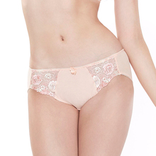 elegant odm oem top brand women ladies high cut hipster OFA2021 underwear embroidery sexy panties