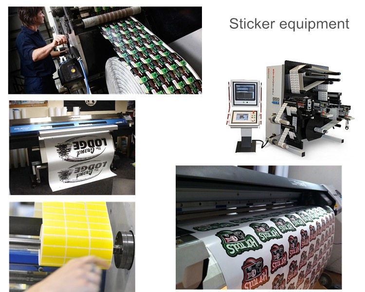 Good selling printed clear die cut custom vinyl stickers