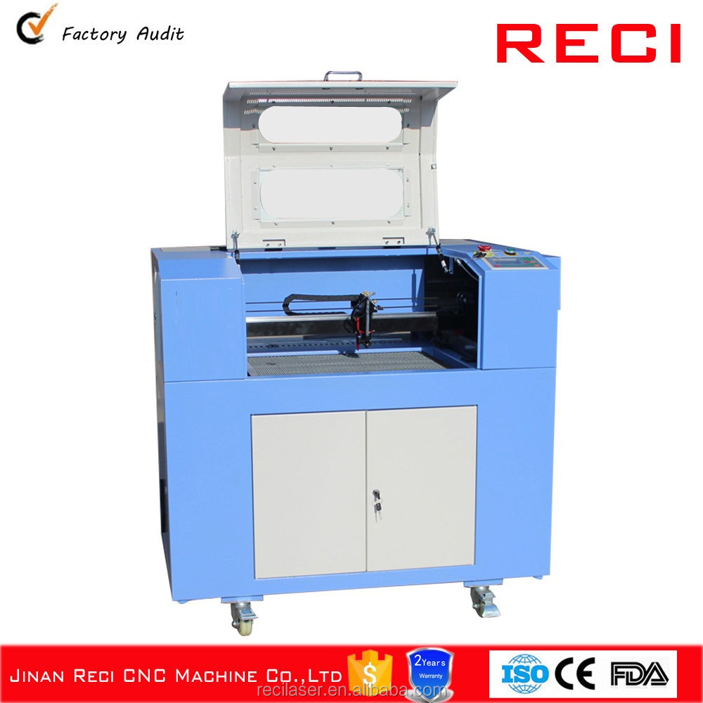 RECI Small Wood Laser Machine For Engraving and Cutting