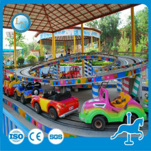 Zhengzhou indoor kids electric games roller coaster shuttle bus mini shuttle for sale