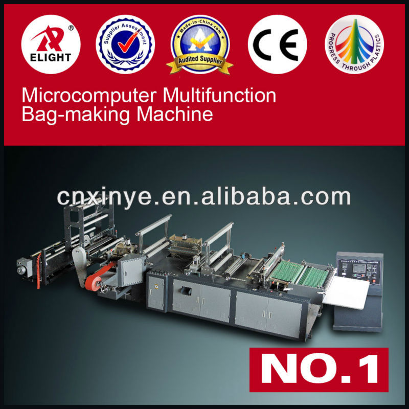 China Microcomputer High Speed Garment Bag-making Machine