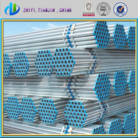 Best sale hot dipped galvanized steel pipe with round steel tube connectors made in China