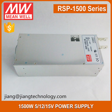 Meanwell 24V 1500W 63A LED Power Supply Enclosed RSP-1500-24