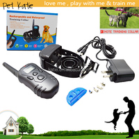 Wholesale 2 Dog Electronic Shock Training Collar Waterproof Rechargeable