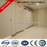 Weigeya compact hpl toilet cubicle partition