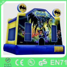 Batman Cartoon painted inflatable bouncer/ inflatable jumper