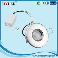 Canada wholesale products 3.0w led recessed ceiling light downlight ce rohs approved