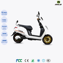 2016 Hot Sell Fashion Design Powerful Motor Green Electricas Adult Electric Motorcycle 1000W