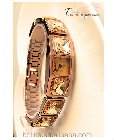 BLL20140130 take me to your heart ladies gold watches special design watches