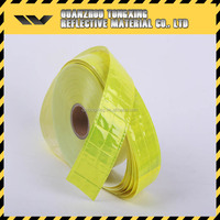 high visible reflective pvc warning tape for safety clothes