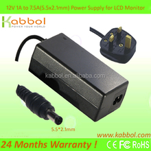 2016 Kabbol Power Adaptor AC DC Adaptor 12V 1A 2A 3A 4A 5A with LED and Power Cord