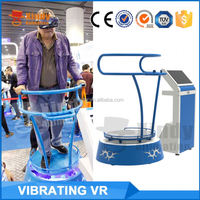 2016 Best Quality virtual reality simulator vr amusement game machine 9d vr cinema Vibrating VR game equipment