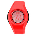 colorful fashion plastic digital girls watches cute design pink young girls fashion watches