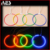 AES Best Quality Car lighting Colorful CCFL angel eyes for all car hid projector lens