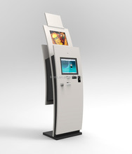 Dual Screen touch Payment Kiosk with SIM Card Dispenser