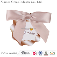 Ribbon Bow With Elastic Loop Satin Ribbon Gift Pre-made Bow Making Machine
